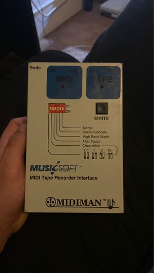 MUSIC SOFT midi tape recorder interface for Sale in Tacoma, WA