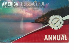 America the beautiful-Annual National parks pass for Sale in Eden Prairie, MN