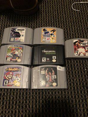 Nintendo 64 games Super smash bros for Sale in Dallas, TX