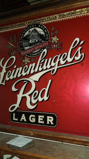 LEINENKIUGE'S RED LAGER MIRROR for Sale in Hillsboro, OR