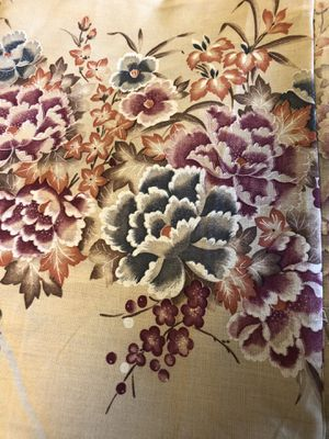 """Fabric 4 yards. 27"""" wide, border print for Sale in Clovis, CA"""