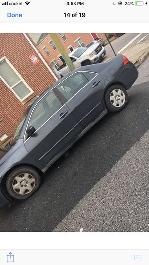 2006 Honda Accord for Sale in Baltimore, MD