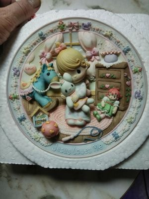 Precious Moments Porcelain Plate for Sale in Tacoma, WA