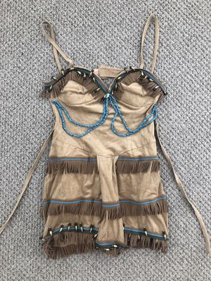 Sexy Native American Indian Halloween Costume for Sale in San Diego, CA