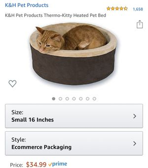Heated Pet Bed for Sale in Honolulu, HI