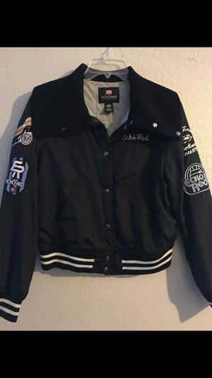 eckored woman's jacket SIZE L fits M for Sale in Riverside, CA