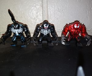 Large Venom Lego Characters for Sale in Fontana, CA