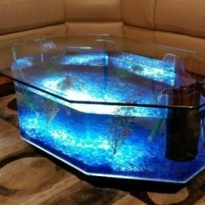 Coffee Table Aquarium (USED WITH ACCESSORIES) for Sale in South El Monte, CA