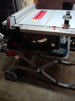 Bosch table saw for Sale in Auburn, WA