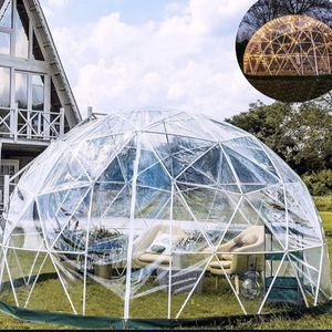 Garden Dome 9.5ft - Geodesic Dome with PVC Cover - Bubble Tent with Door and Windows for Sunbubble, Backyard, Outdoor Winter, Party 353 for Sale in Downey, CA