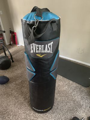 Everlast PowerShot Punching/Striking Bag 100Lbs w/ Everlast Beam Strap for Sale in Tampa, FL