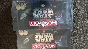 Star wars monopoly games never opened each 5o or offer for Sale in Las Vegas, NV