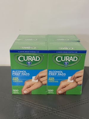 Curad Alcohol Prep Pads 400 Pads - Brand New! for Sale in Westminster, CA