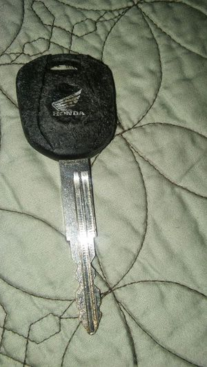 Honda motorcycle key for Sale in Lincoln Acres, CA