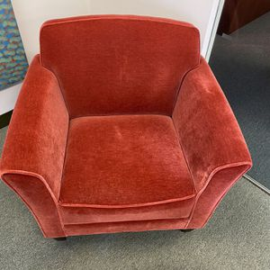 Club Chairs With Mohair Fabric In Good Condition For SALE for Sale in New York, NY