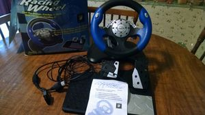 PlayStation 2 steering wheel and pedals for Sale in Harrisonburg, VA
