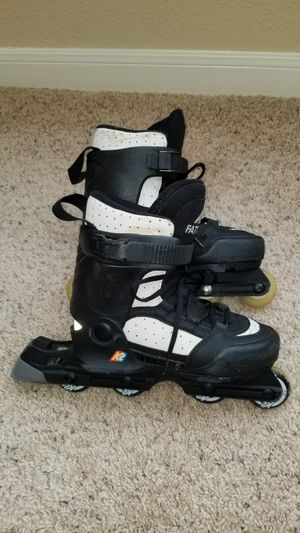 K2 KIDS ADJUSTABLE SIZE 4-6 SKATES for Sale, used for sale  Katy, TX