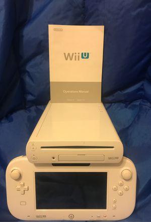 Nintendo Wii U white for Sale in Mesa, AZ
