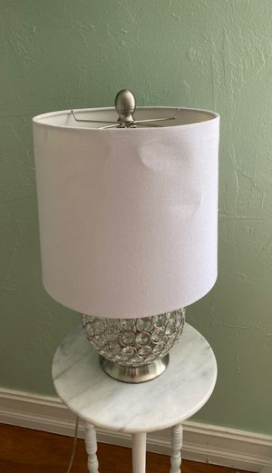 White lamp for Sale in Davie, FL