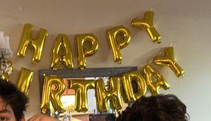 Free - happy birthday balloon for Sale in Stevenson Ranch, CA