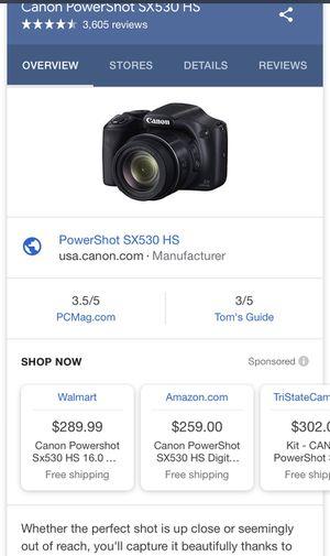 Canon Powershot SX530 HS Powershot for Sale in Atlanta, GA