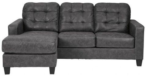 Venaldi Gunmetal Sofa Chaise for Sale in Round Rock,  TX