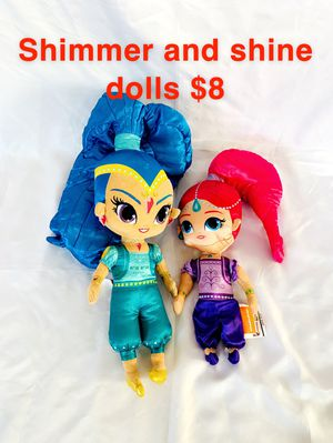 Shimmer and shine dolls for Sale in Elk Grove, CA