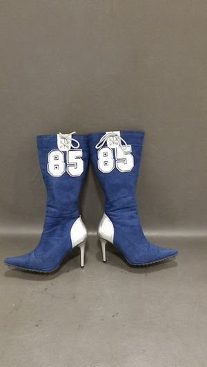 Indianapolis Colts #85 Eric Ebron Womens Cheerleader Fan boots for Sale in Madison Heights, VA
