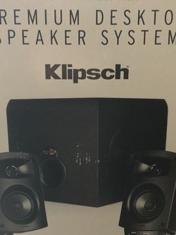 Premium Klipsch Desktop Speakers 2.1 THX for Sale in Marysville,  WA