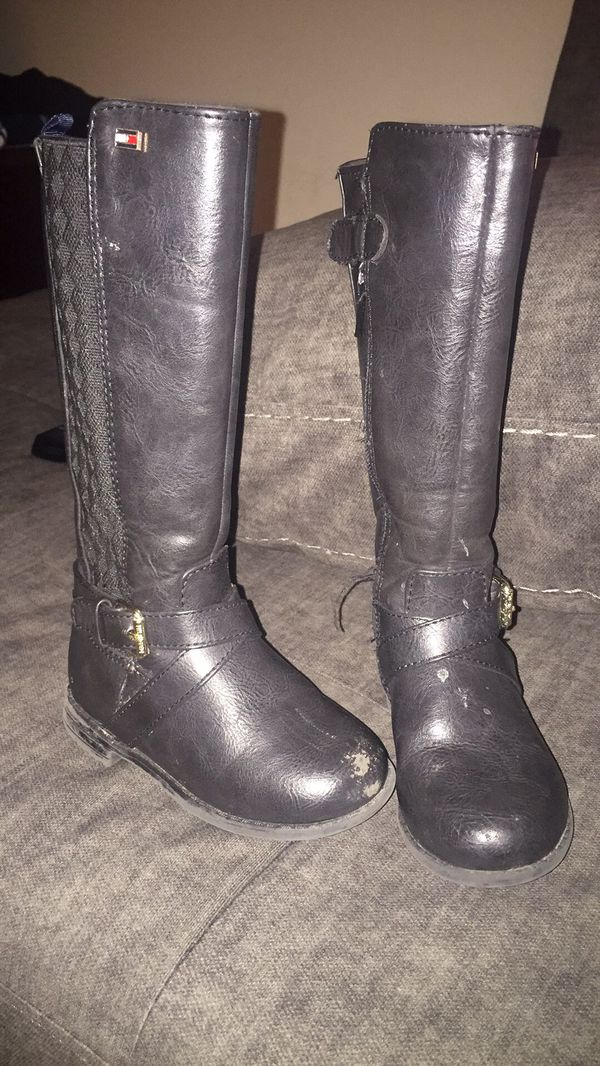 Tommy Hilfiger girl boots size 7