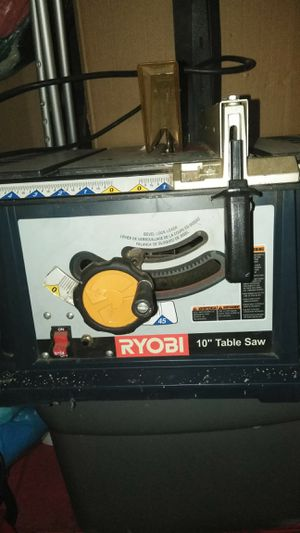 """Ryobi 10"""" Table Saw for Sale in Los Angeles, CA"""