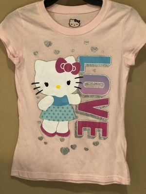 Girls Pink Hello Kitty T-shirt for Sale in San Bernardino, CA