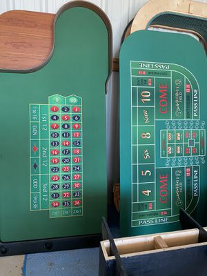 Custom Made Casino Tables for Sale in SIENNA PLANT, TX