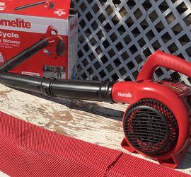 Homelite 150 MPH 400 CFM 2-Cycle Handheld Gas Leaf Blower for Sale in Bloomington,  CA