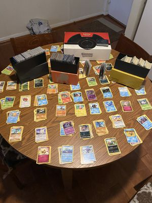 Pokemon collection 1,300 plus cards— 1999/2000 cards/1st editions/2005-and up for Sale in West Springfield, VA
