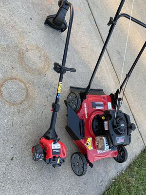 Lawn mower and a full set for Sale in Bolingbrook, IL