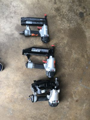 Porter cable nail guns for Sale in Pasadena, TX