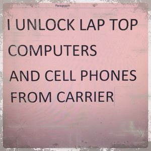 I unlock Laptop computers and cell phones from carriers for Sale in Orlando, FL