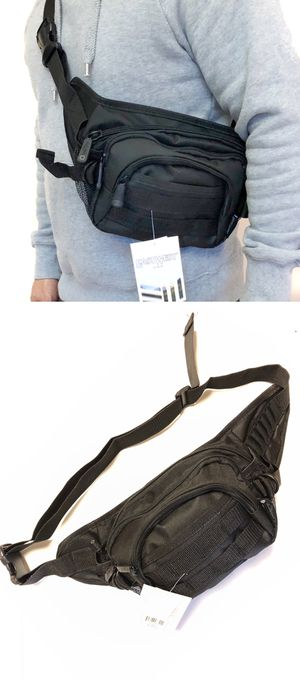 NEW! Tactical Military style Shoulder Bag / Waist Pack Pouch fanny pack crossbody bag travel bag camping day pack hiking fishing molle for Sale in Carson, CA