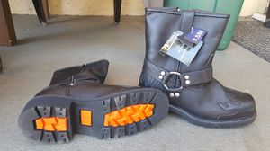 Leather Motorcycle/Work Boots for Sale in Banning, CA