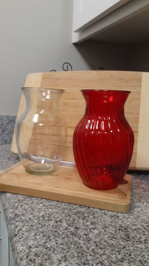 2 flower vases. Brand new. for Sale in Huntington Beach, CA