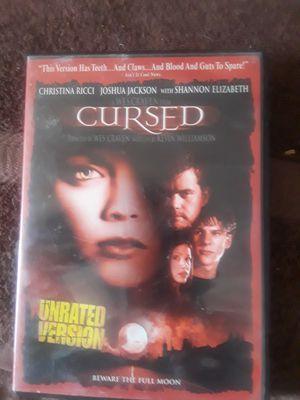Cursed DVD for Sale in Rock Island, IL