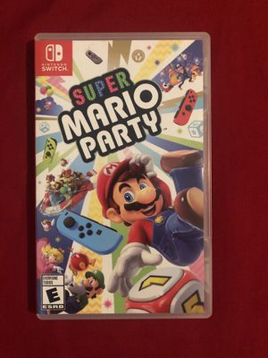 Super Mario Party Nintendo Switch game for Sale in Compton, CA