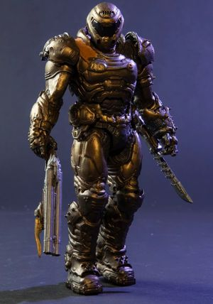 McFarlane Toys Doom Slayer Limited Bronze Edition Action figure for Sale in Cypress, TX