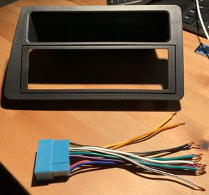 Stereo radio kit for Honda Civic 2001-2005 and wire harness for Sale in Houston, TX