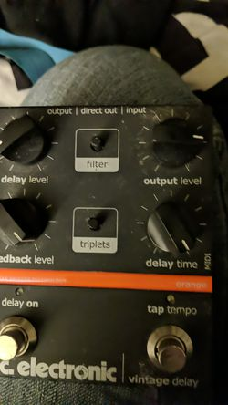 T. C. Electronic delay pedal for Sale in Darrington,  WA
