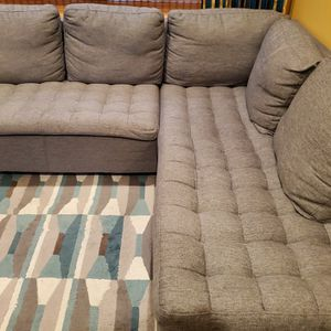 Grey Dania Couch For Sale for Sale in Bartlett, IL
