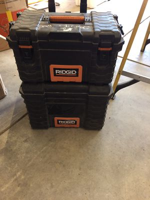 Rigid rolling tool box for Sale in Bakersfield, CA