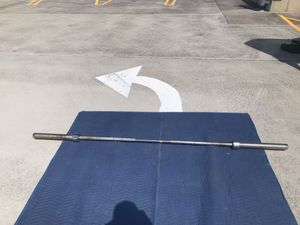 Used 45 lbs barbell for Sale in Fairfax Station, VA