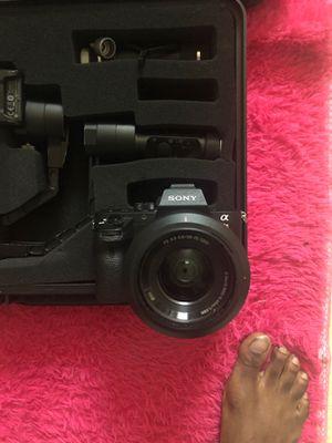 Sony alpha a6000 camera for Sale in Richmond, VA